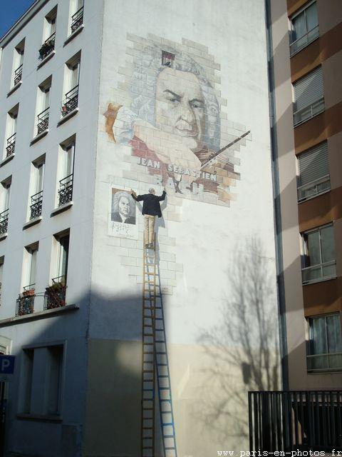 mur jean baptise bach rue clisson