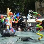 Le serpent de Niki de Saint-Phalle