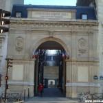 Entrée de l'Université Paris 4 Malesherbes