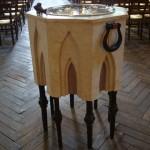 Le bénitier de l'église Saint-Jean de Montmartre