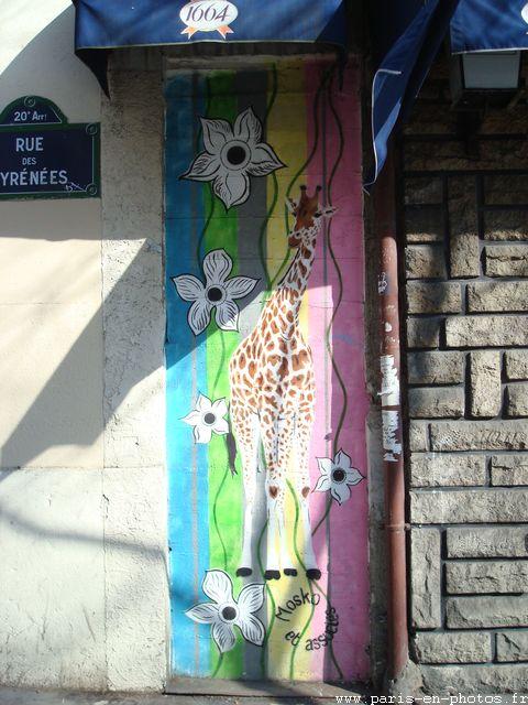 girafe 196 rue pyrénées