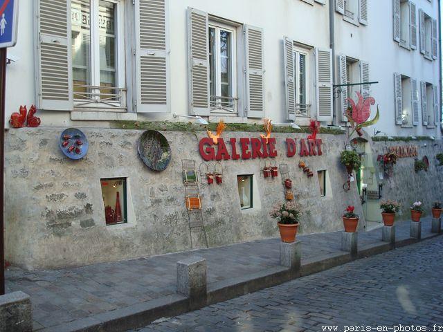 mur rue des saules