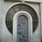 Une porte ronde, passage Josset