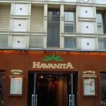 L'entrée de la Havanita, 11 rue de Lappe