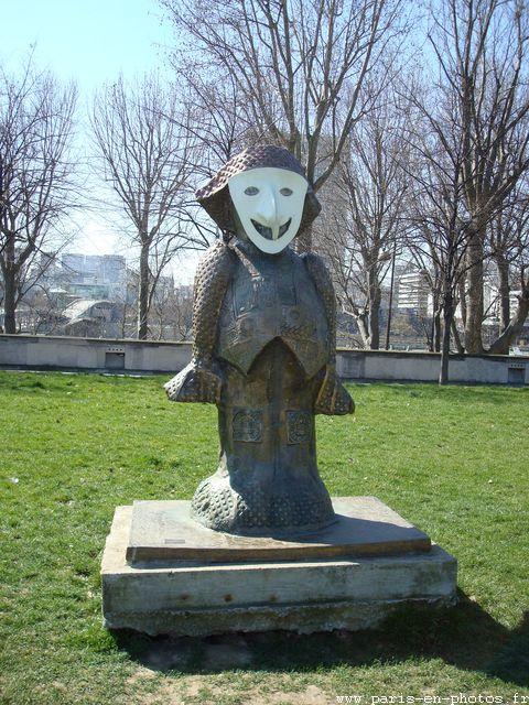 enzo italien sculpture bercy