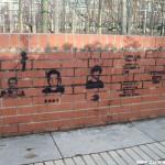Suite et fin des graffitis de Bercy