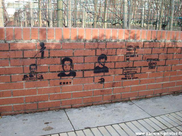 graffitis muret bercy