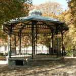 Le kiosque à musique du square Necker
