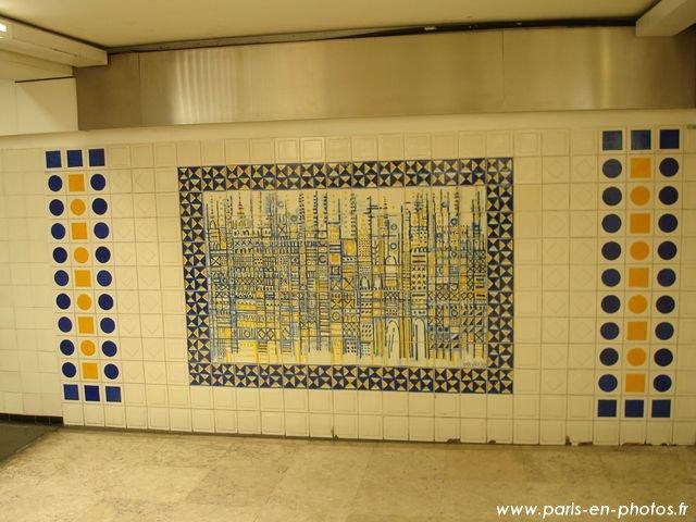 mosaïque métro clémenceau