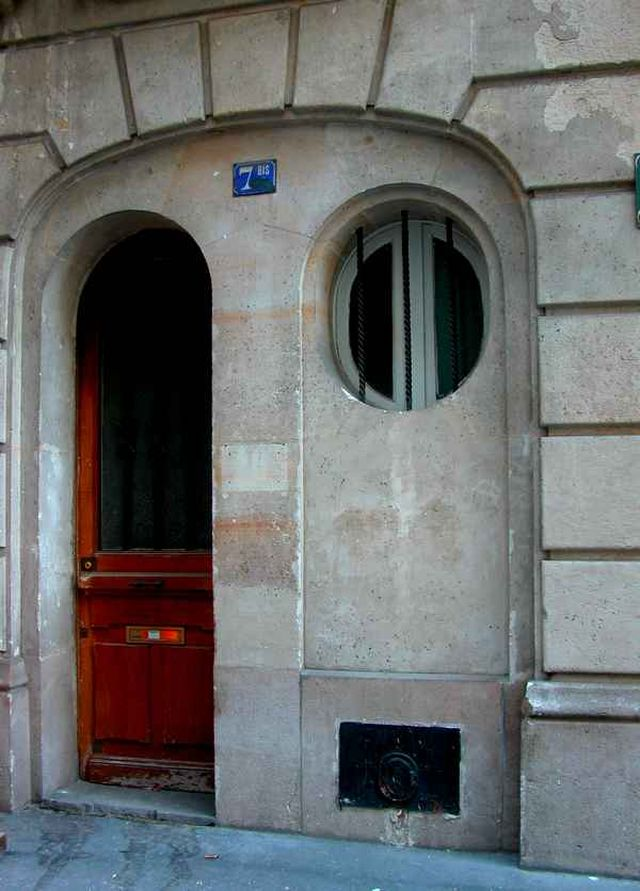 Porte ronde, 7 rue de Monbel