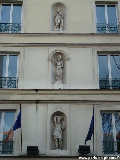 statuettes 105 avenue d'ivry