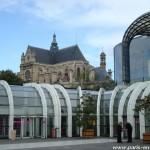 Le forum des Halles et Saint-Eustache