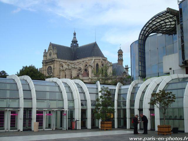 structure métal verre halles