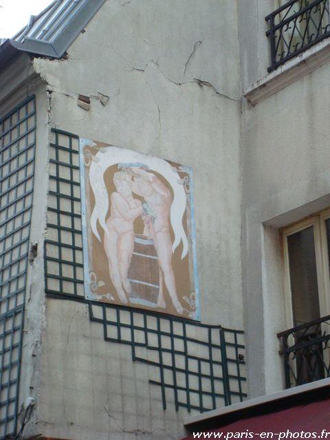 fresque nus bar sans culotte