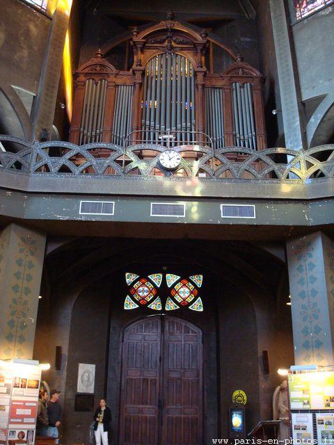 orgue entree saint-jean de montmartre