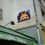 Space Invador, rue de Charonne