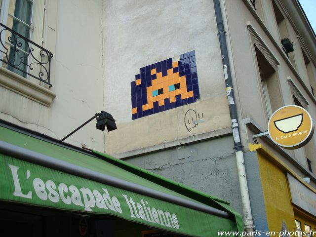 space invader 31 rue charonne