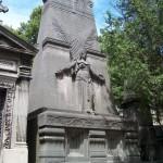 Une tombe angélique
