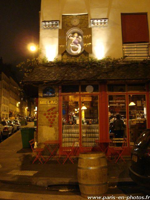 bar Mélac rue Emile Lepeu