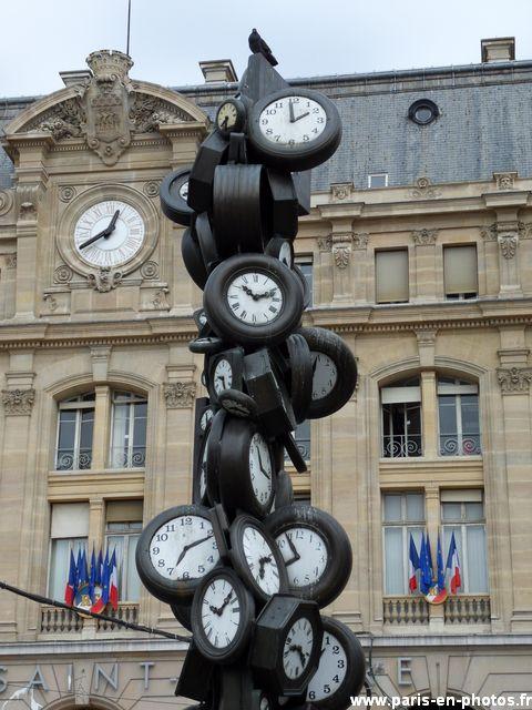 heure pour tous horloge arman