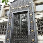 Porte monumentale de la BNP