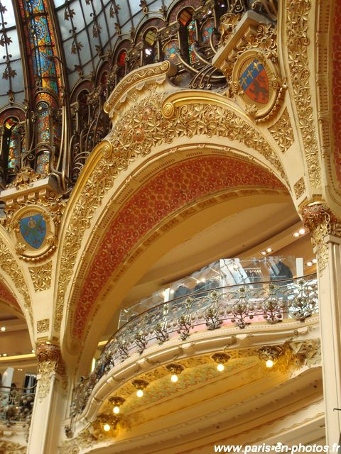 balcon Galeries Lafayette