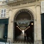 L'autre entrée de la Galerie Vero Dodat