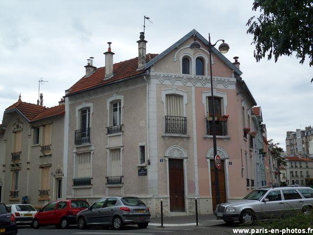 facade double 2 rue Henri Pape