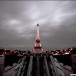 La tour Eiffel sous les feux des canons