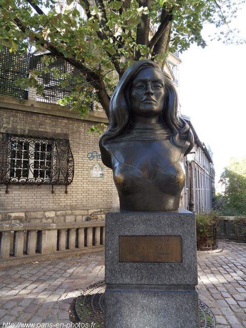 buste Dalida Montmartre
