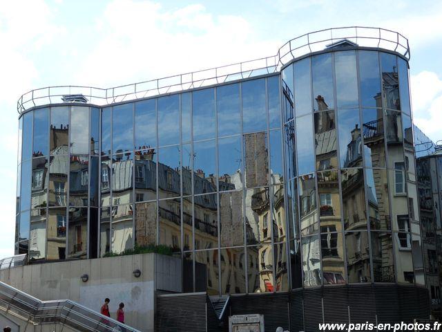 Le miroir des halles paris en photos for Le miroir paris