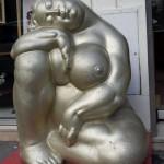 Déesse dorée du Musée de l'érotisme