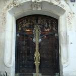 Porte Art Nouveau