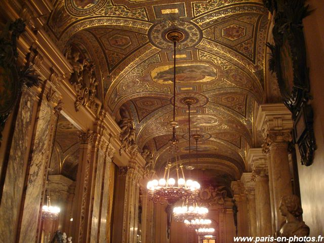 L Opéra Garnier Grand Foyer De L Opera : Grand foyer de l opéra garnier paris en photos