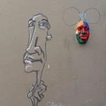 Masque de Gregos rue d'Orchampt