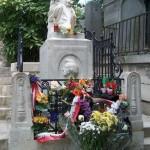 Tombe de Chopin, au Père Lachaise