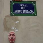 Tete de Gregos rue Barsacq
