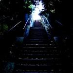 Escaliers au Parc de Belleville