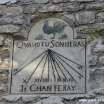 Cadran solaire à Montmartre
