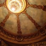 Le plafond du théâtre Athénée