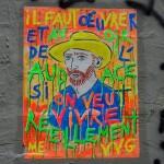 Van Gogh en fluo