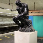 Le (faux) penseur de Rodin