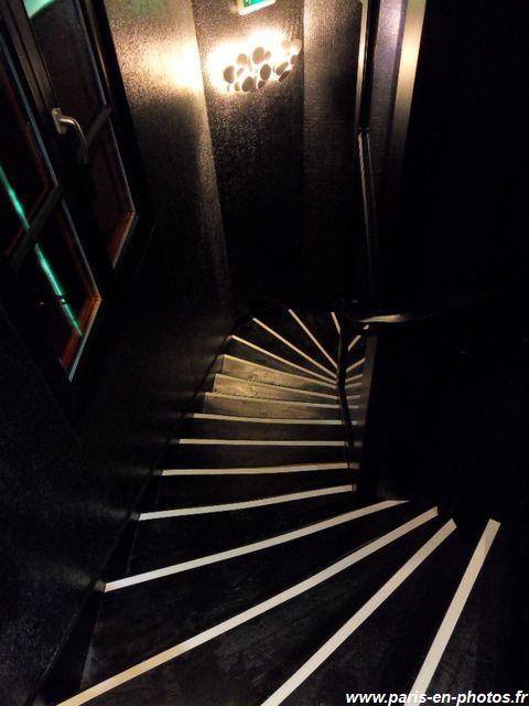Escalier Seven Hotel