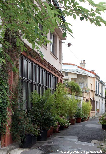 cité Leroy, 20e arrondissement