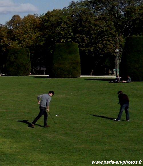 jouer au golf à Paris