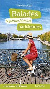 couverture Balades et petites histoires parisiennes, par Marjolaine Koch