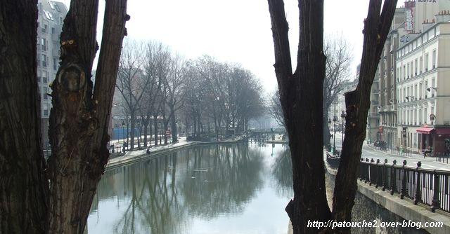 canal Saint-Martin, par Patouche