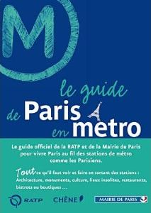 Couverture Le guide de Paris en métro