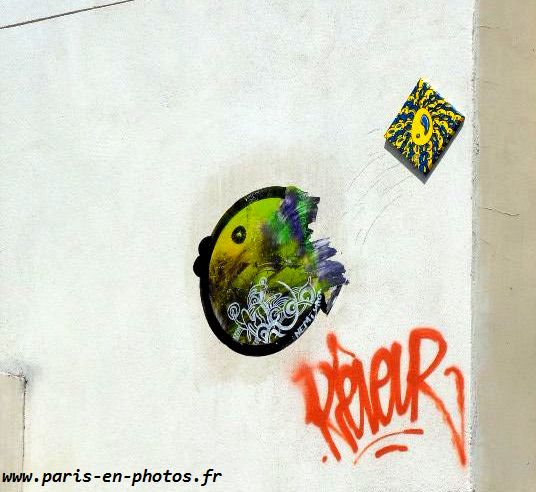 street art bastek rue desnouettes