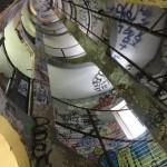 Les escaliers des Frigos de Paris